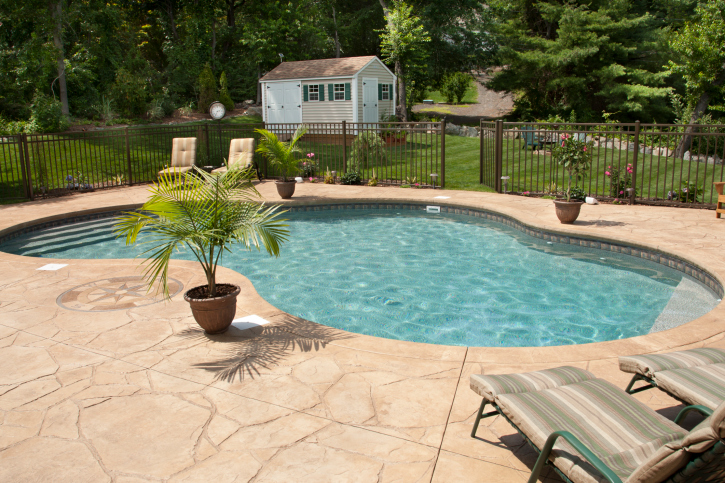 Which Pool Deck Material is Right For You? - HFS Financial