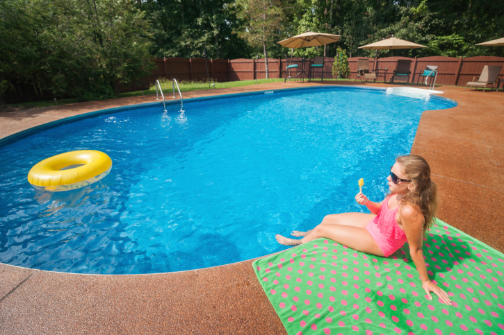 Finance Swimming Pools : Landscaping your inground pool hfs financial