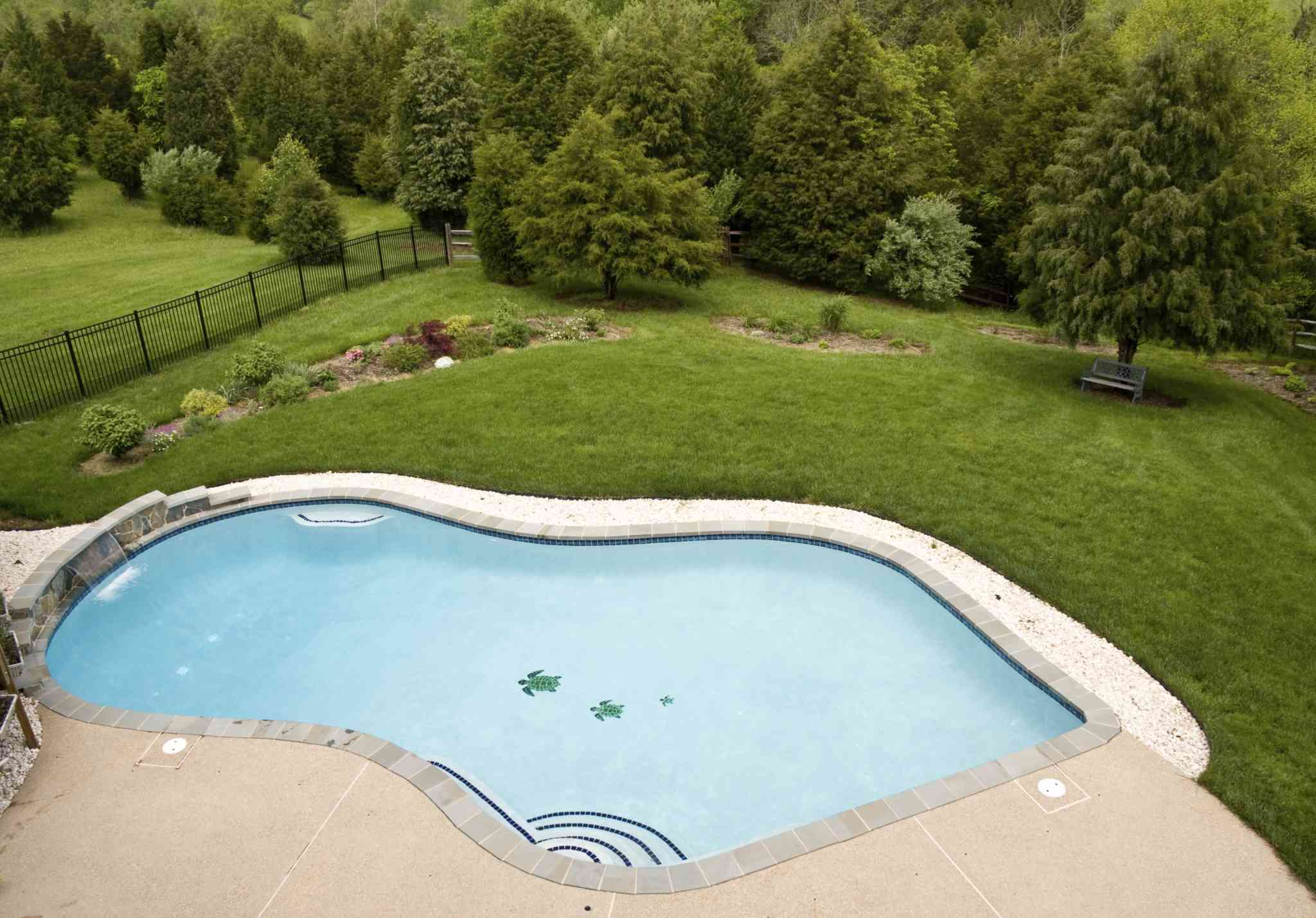Three Gunite Pools - HFS Financial