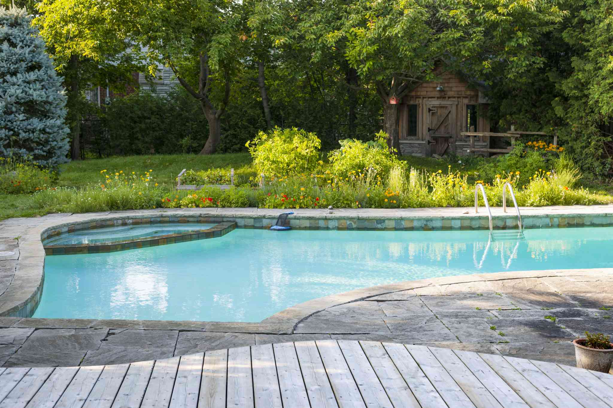 How To Care For Your Swimming Pool After A Rainstorm Hits ...
